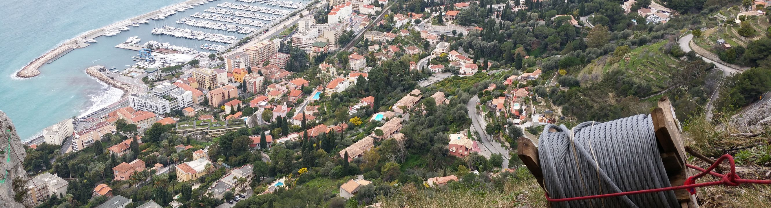 Vue sur Nice et ses environs